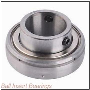 28,575 mm x 62 mm x 36,51 mm  Timken 1102KLL Ball Insert Bearings