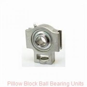 1.4375 in x 4.68 to 5.44 in x 1-11/16  Dodge P2BSCB107 Pillow Block Ball Bearing Units