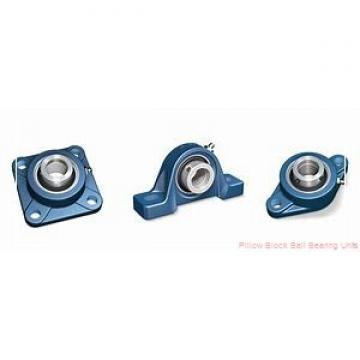 1.6875 in x 5-1/2 to 6.19 in x 2-7/32 in  Dodge P2BSXR111 Pillow Block Ball Bearing Units