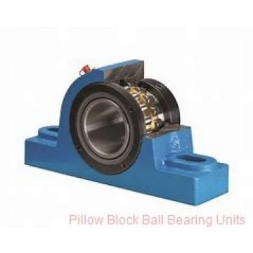 2.1875 in x 6.38 to 7.44 in x 1.9 in  Dodge P2BSXVB203 Pillow Block Ball Bearing Units