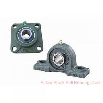 1.3125 in x 4.68 to 5.44 in x 1-11/16 in  Dodge P2BSC105 Pillow Block Ball Bearing Units
