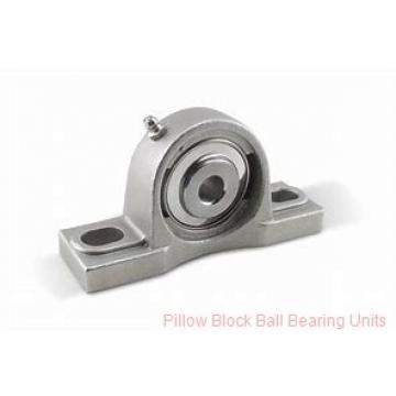 2.1875 in x 6.88 to 7.94 in x 2.31 in  Dodge P2BSCMAH203 Pillow Block Ball Bearing Units