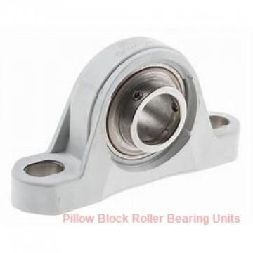 2.4375 in x 9-3/4 in x 3-3/4 in  Rexnord AMPS9207F Pillow Block Roller Bearing Units