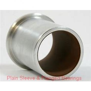 Bunting Bearings, LLC AA0521 Plain Sleeve & Flanged Bearings