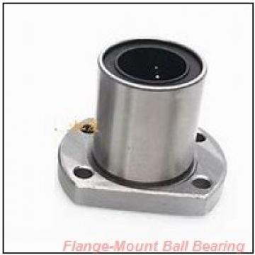 0.5000 in x 2.1250 in x 3.0000 in  SKF F4B 008-TF Flange-Mount Ball Bearing Units