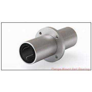 2.1875 in x 4.2500 in x 7.1250 in  Sealmaster EMFC-35T Flange-Mount Ball Bearing Units