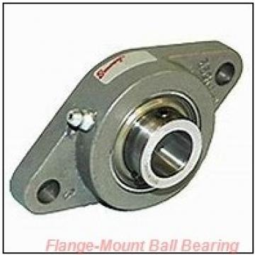 1.1250 in x 4.5938 in x 83 mm  SKF F2B 102-FM Flange-Mount Ball Bearing Units