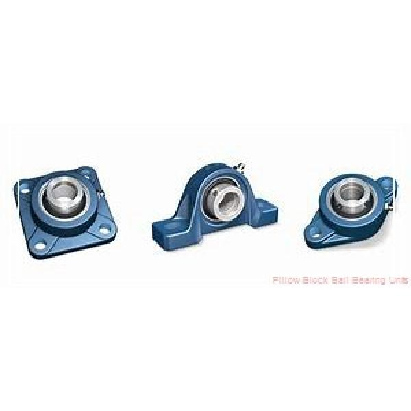 2.1875 in x 6.38 to 7.44 in x 2-13/16 in  Dodge P2BSXR203 Pillow Block Ball Bearing Units #1 image