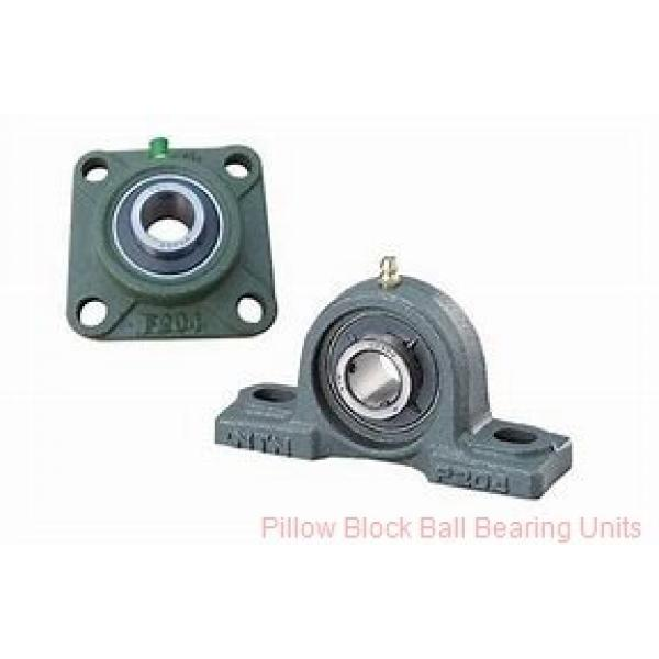 1.4375 in x 4.68 to 5.44 in x 1.71 in  Dodge P2BSC107HT Pillow Block Ball Bearing Units #1 image